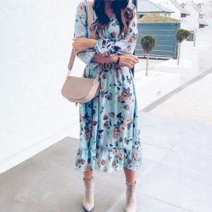 Bohemian Women's Long Dress