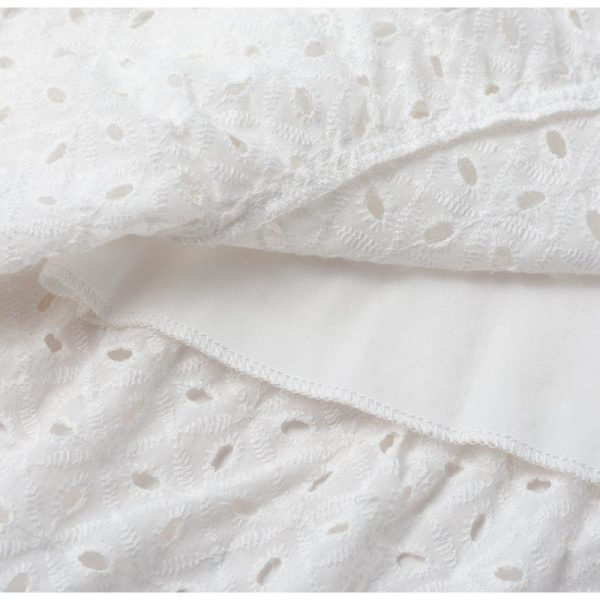 White Hippie Chic Short Dress