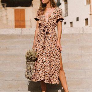 Bohemian And Chic Dress
