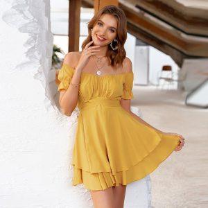 Esprit Bohemian Off Shoulder Dress