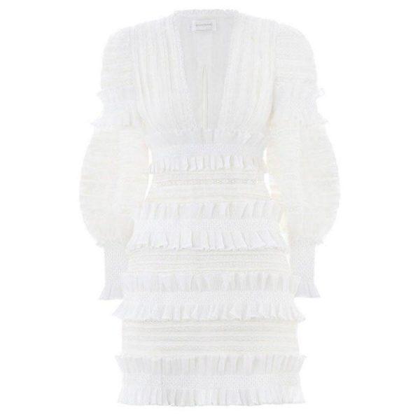 Dress boho chic lace