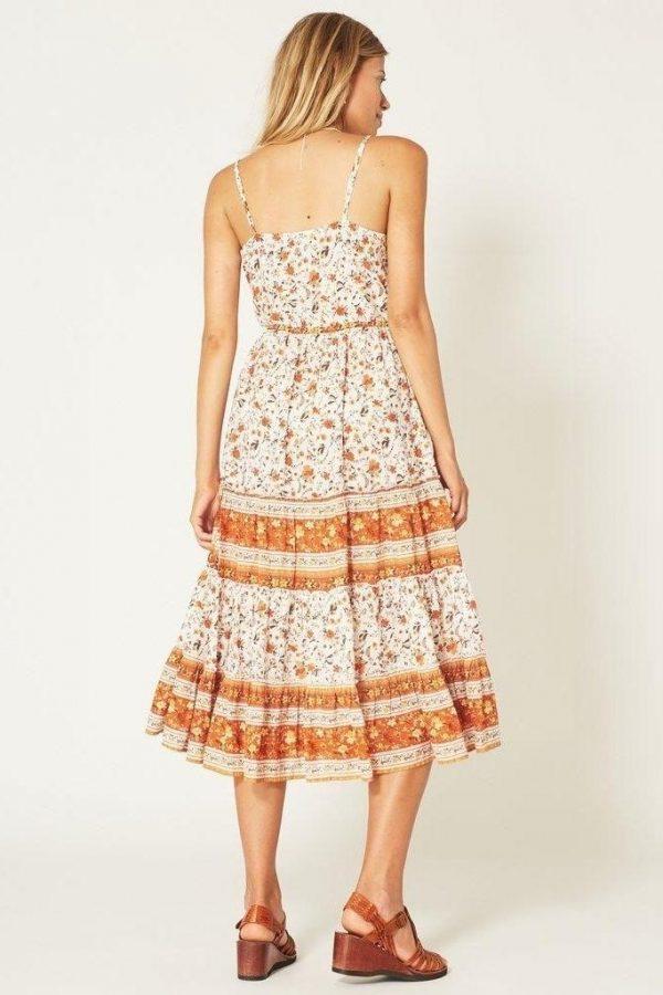 Bohemian long dress for women