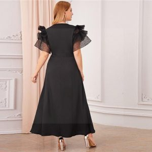 Long dress boheme chic big size