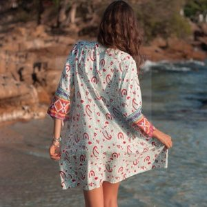 Bohemian chic dress toulouse