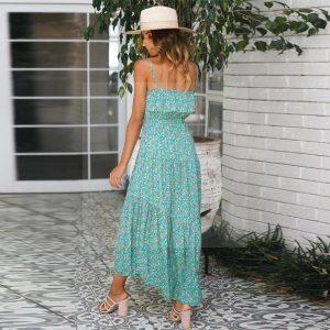 Bohemian open dress