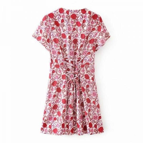 Romantic hippie dress