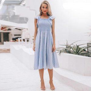 Blue bohemian spirit maxi dress